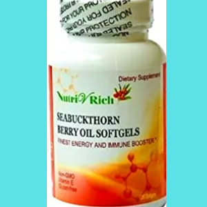 Longrich Seabuckthorn Berry Oil Softgels 120 Softgels My Store