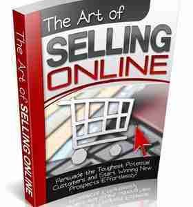 THE ACT OF SELLING ONLINE