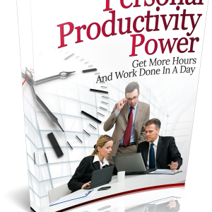 PERSONAL PRODUCTIVITY POWER BOOK